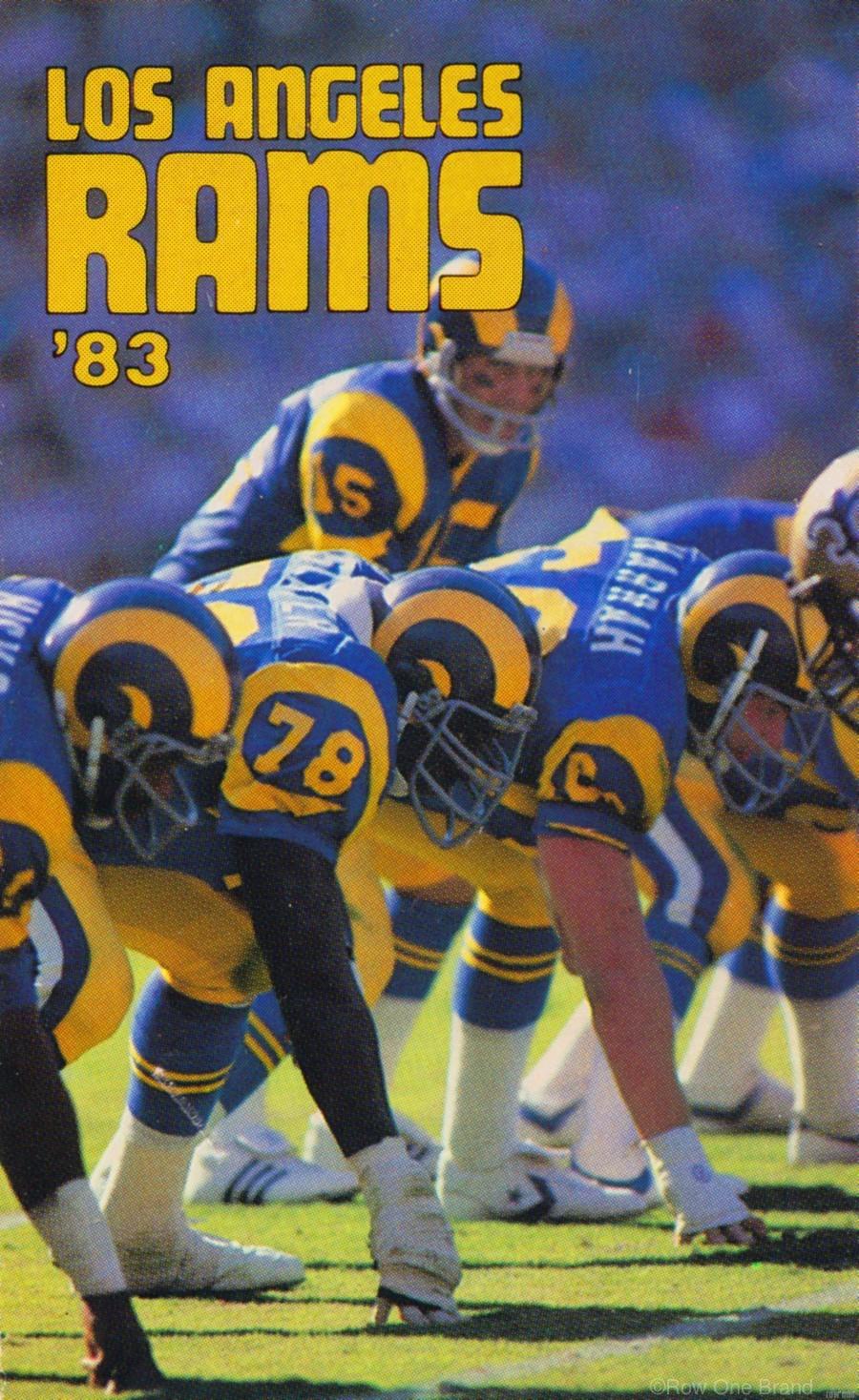 1983 Los Angeles Rams  Print