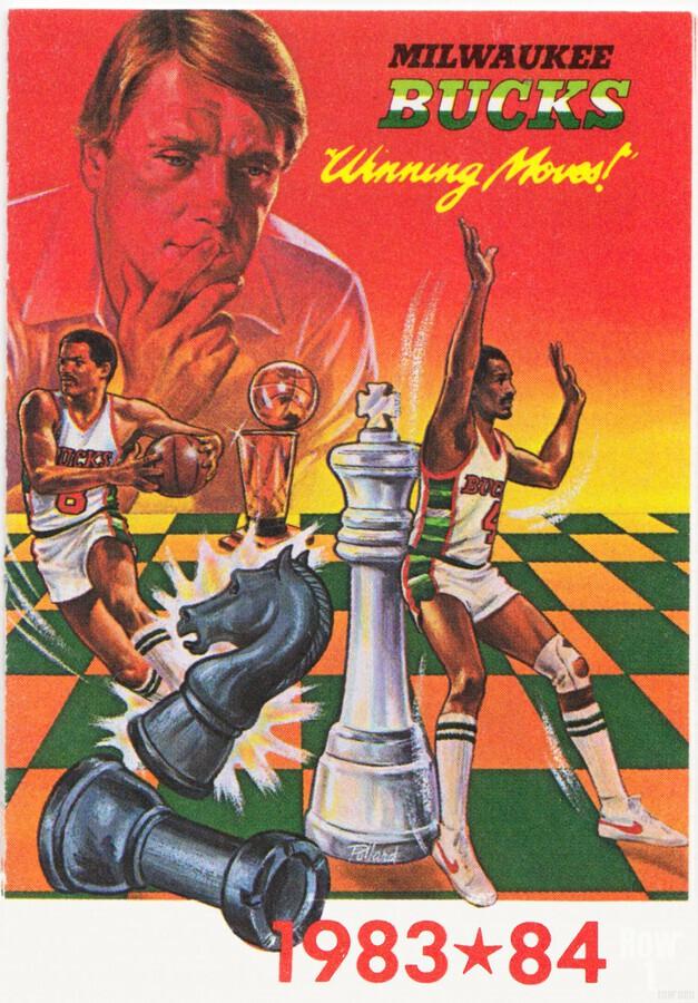 1983 Milwaukee Bucks   Print