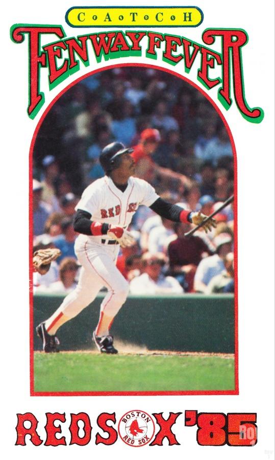 1985 Boston Red Sox Retro Poster  Print