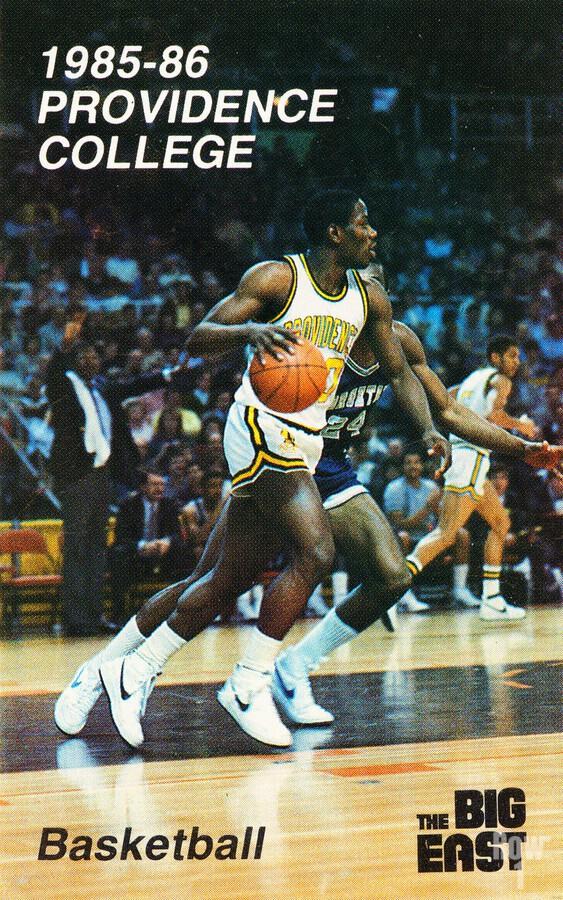 1986 providence basketball poster  Print