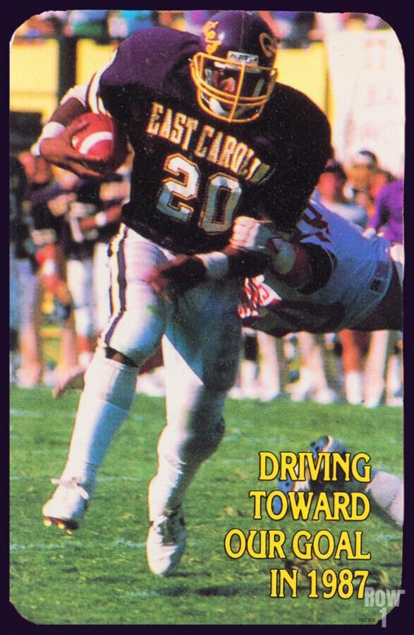1987 East Carolina Football  Print