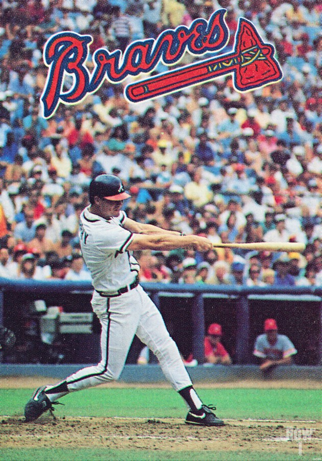 1988  Atlanta Braves Dale Murphy   Print