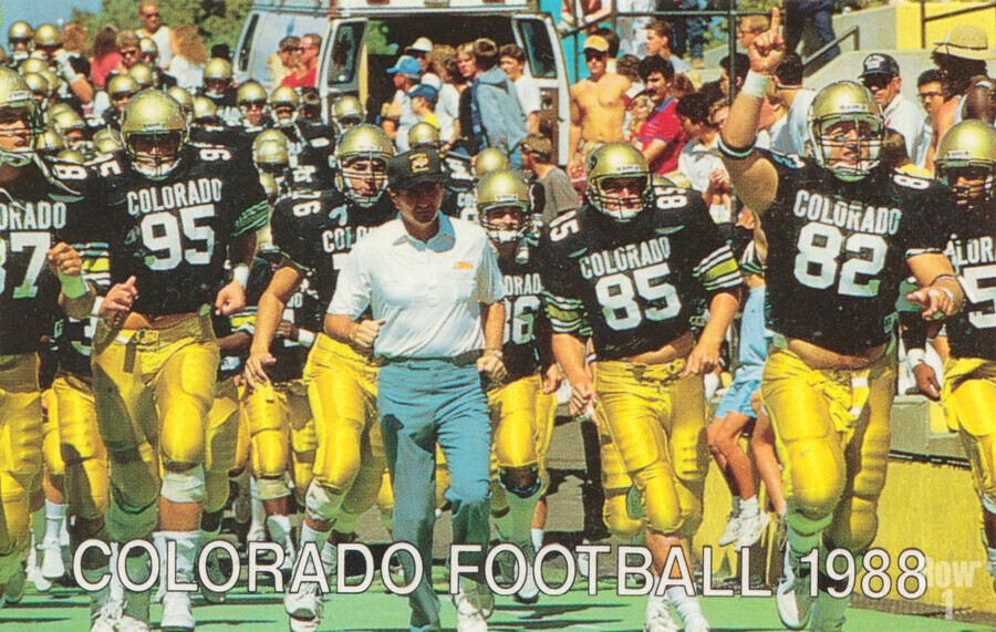 1988 colorado football  Print