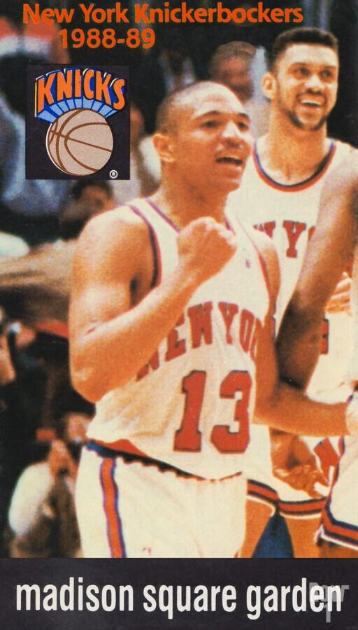 1988 New York Knicks Mark Jackson  Print