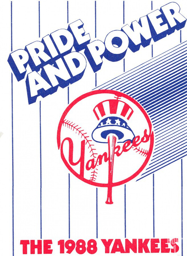 1988 New York Yankees Art  Print