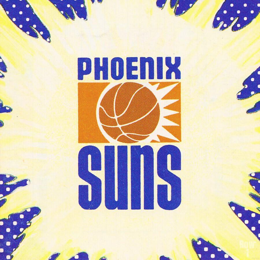 1988 Phoenix Suns Art  Print