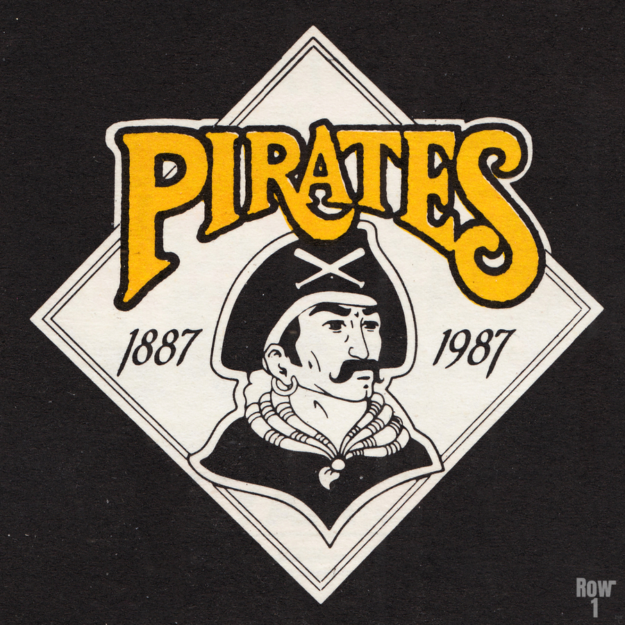 1988 Pittsburgh Pirates Retro Art  Print