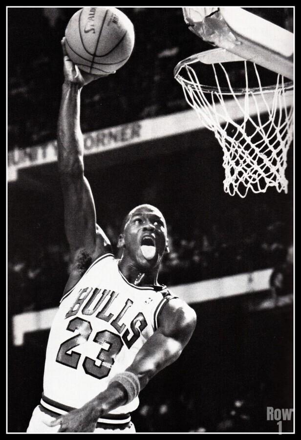 Michael Jordan Art Print  Print