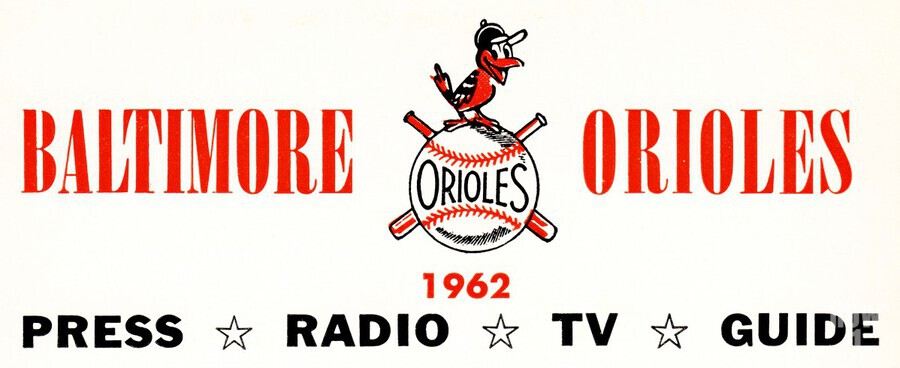 baltimore orioles press guide row one  Print