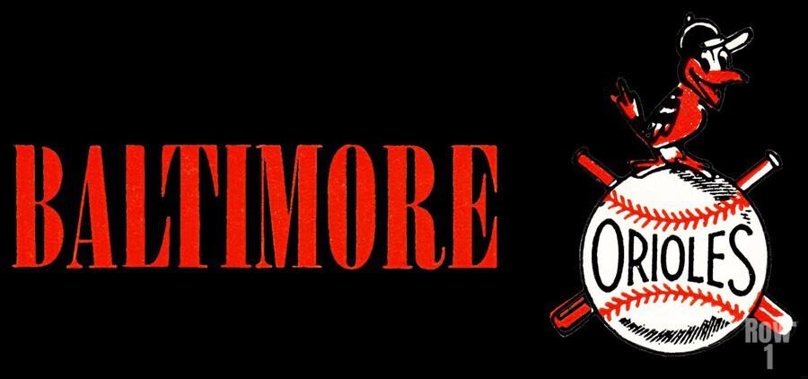 baltimore orioles retro remix row one  Imprimer