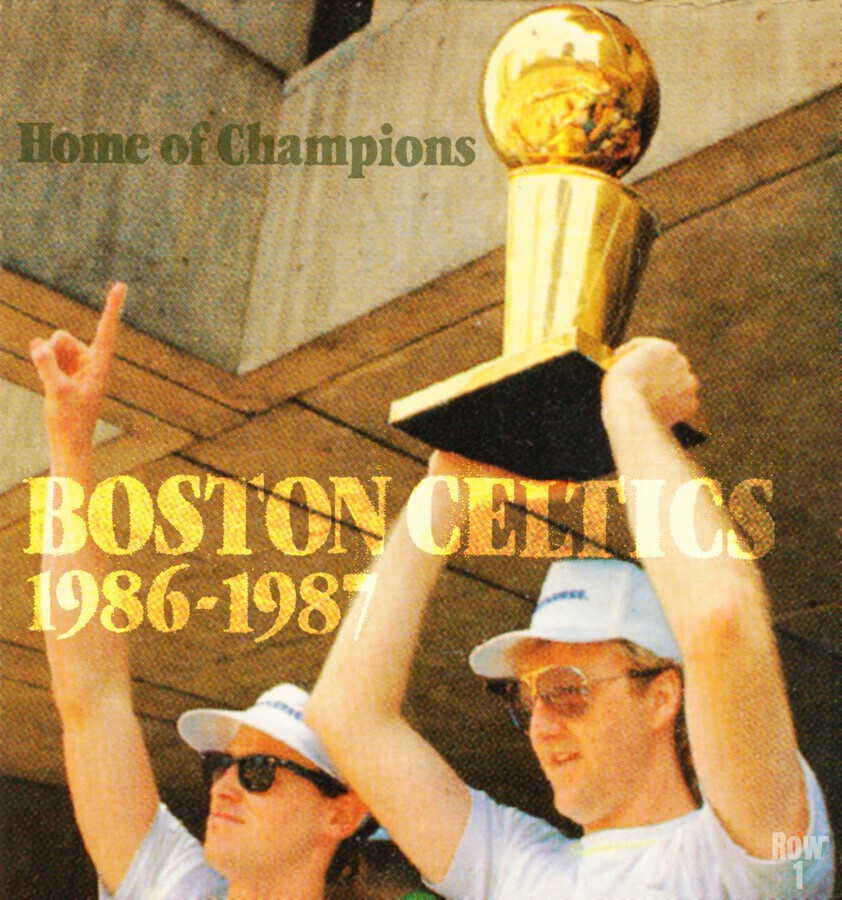 1986 Bird and McHale  Print