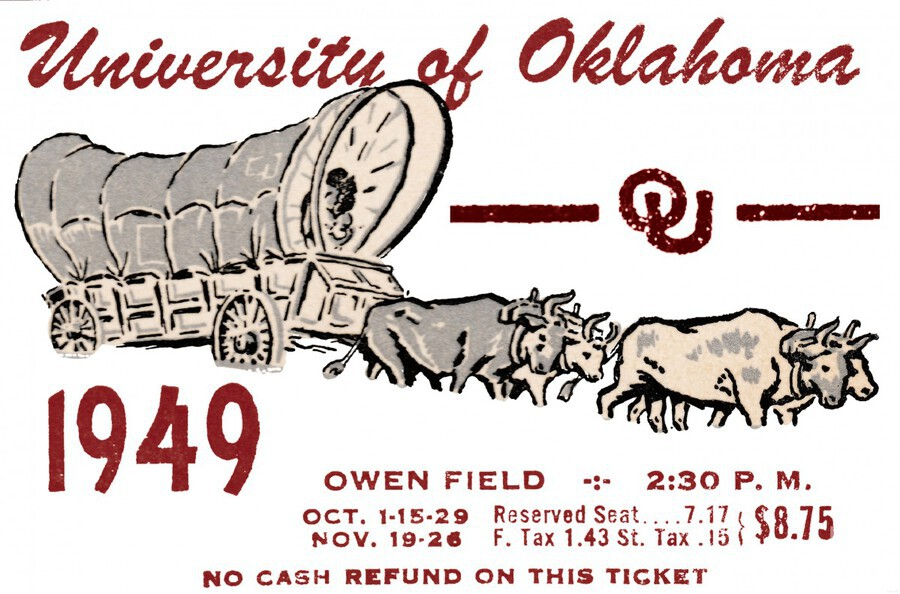University of Oklahoma Gift Ideas for Sooner Fans  Print