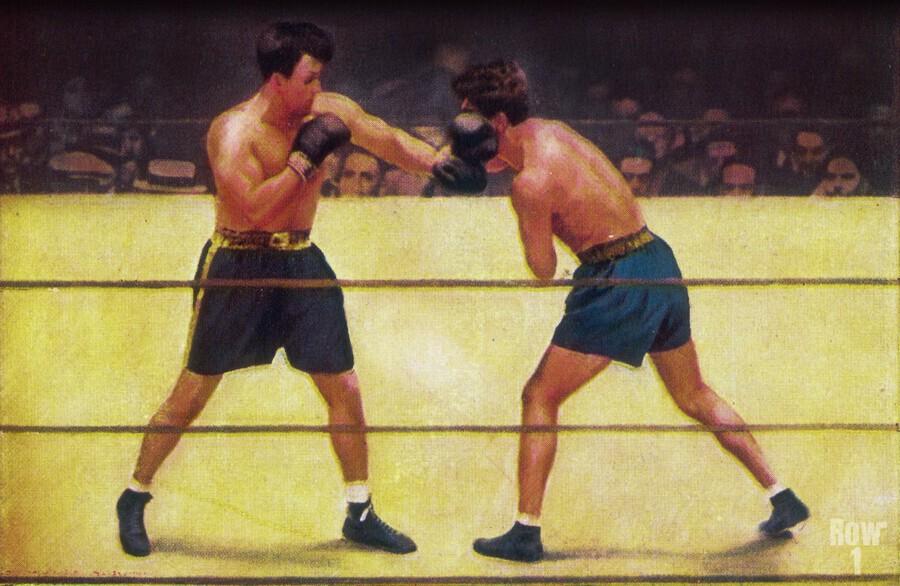 Vintage Boxing Art  Print