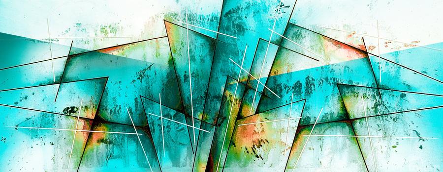 ABSTRACT ART BRITTO QB300  Print