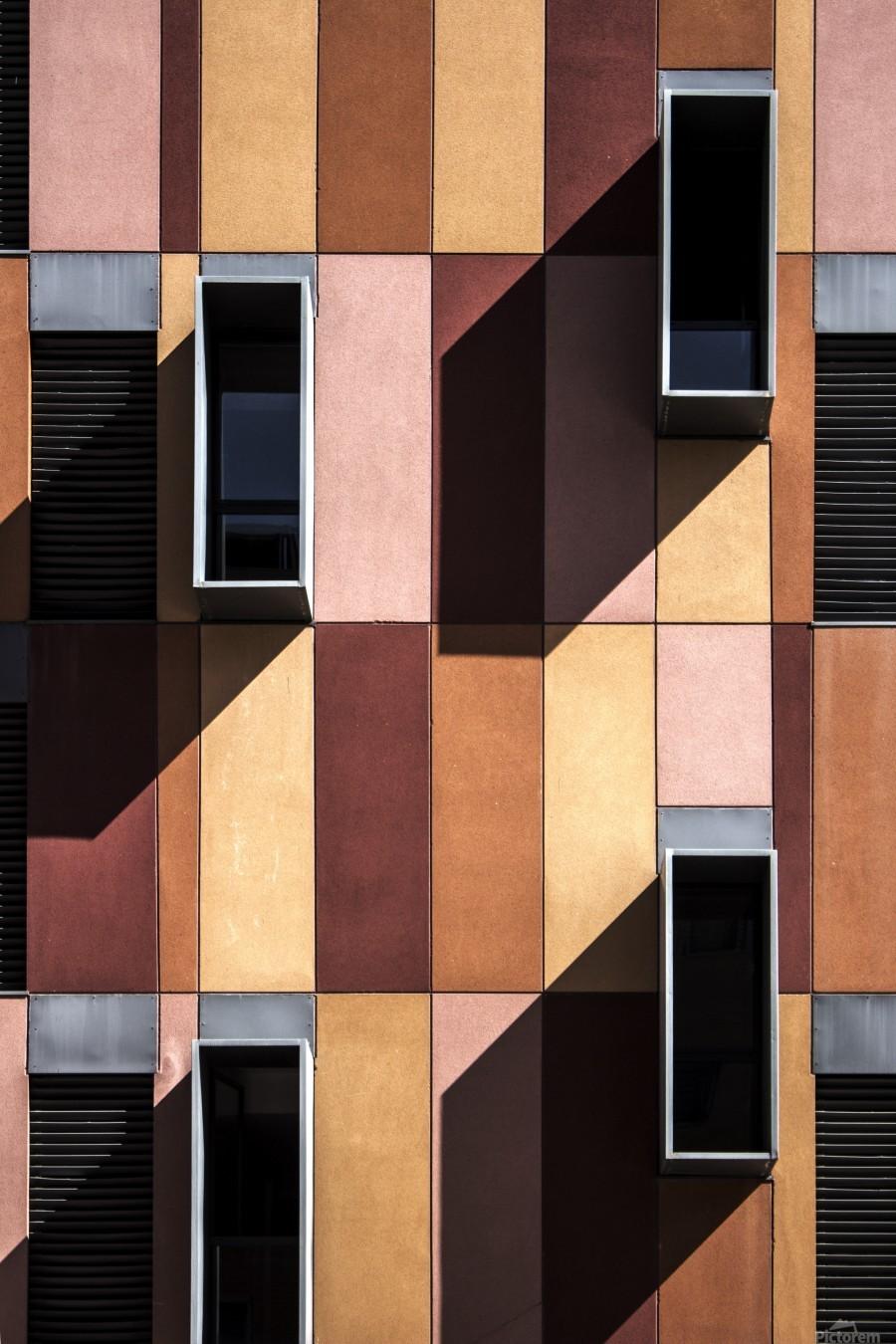 architectural design architecture building colors  Print