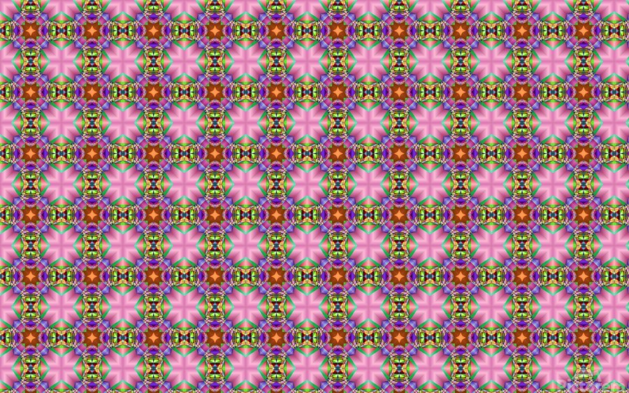 seamlesspsychedelicpattern  Print