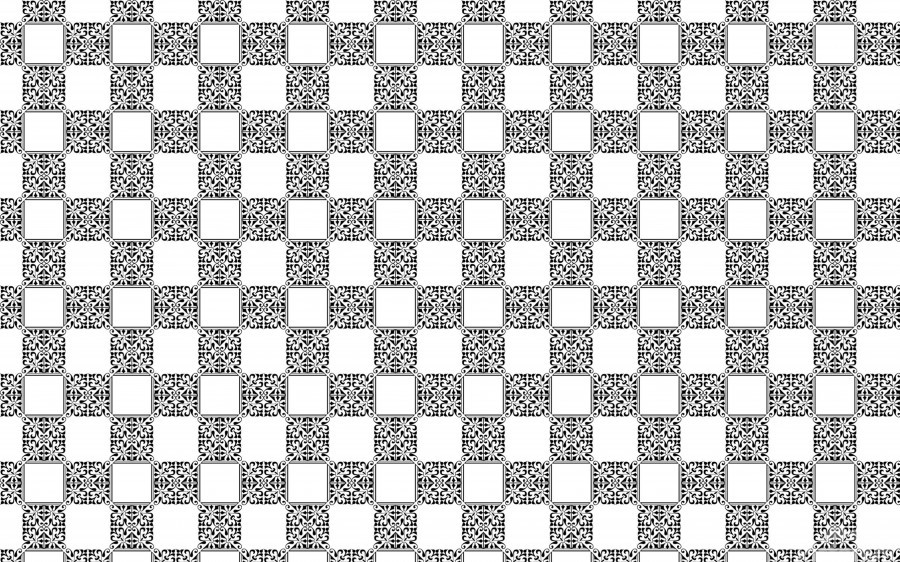 seamlesstilederivativepattern  Print