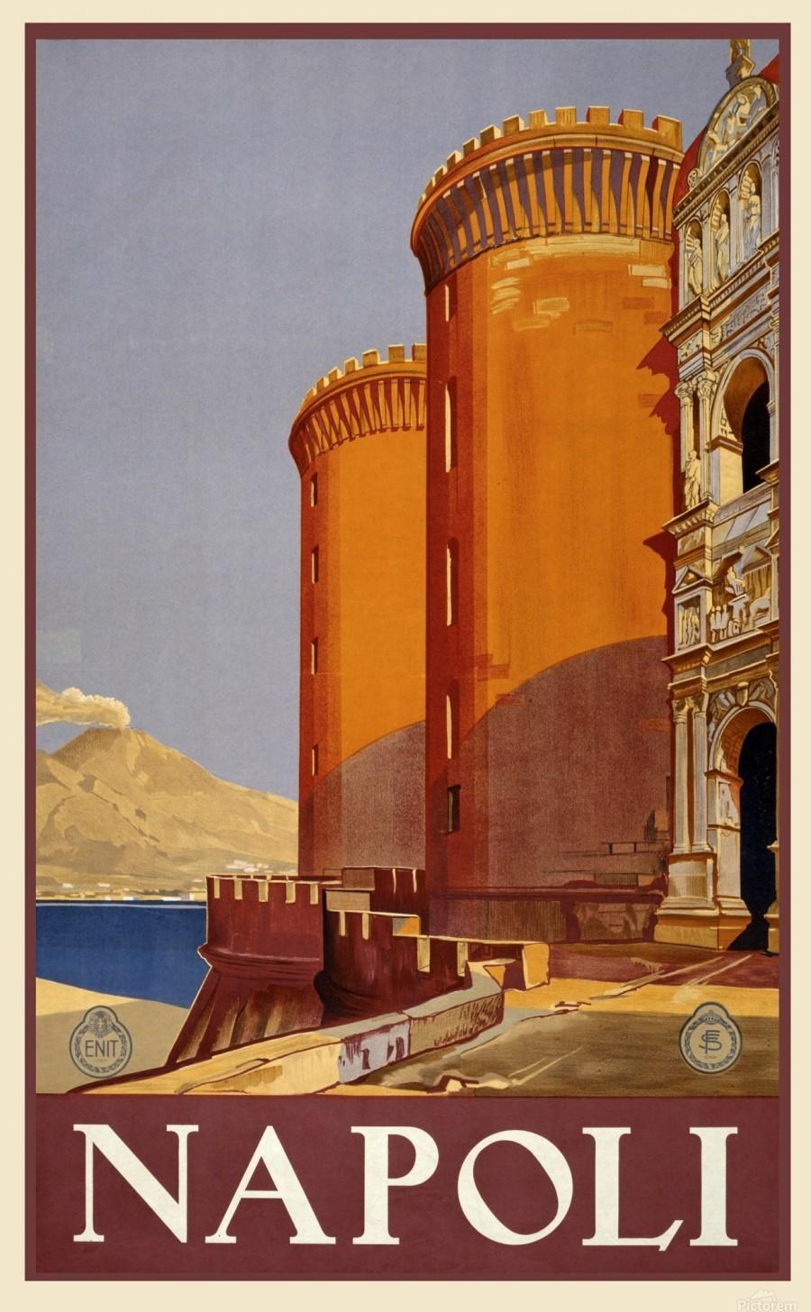 vintage travel travel poster poster  Print