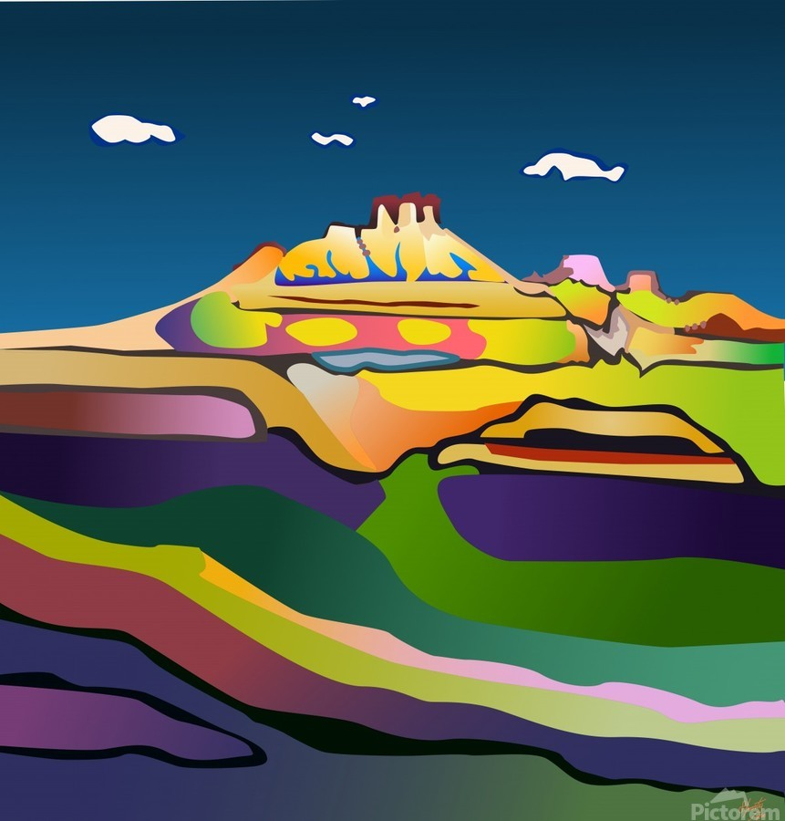 Rock Springs  Print