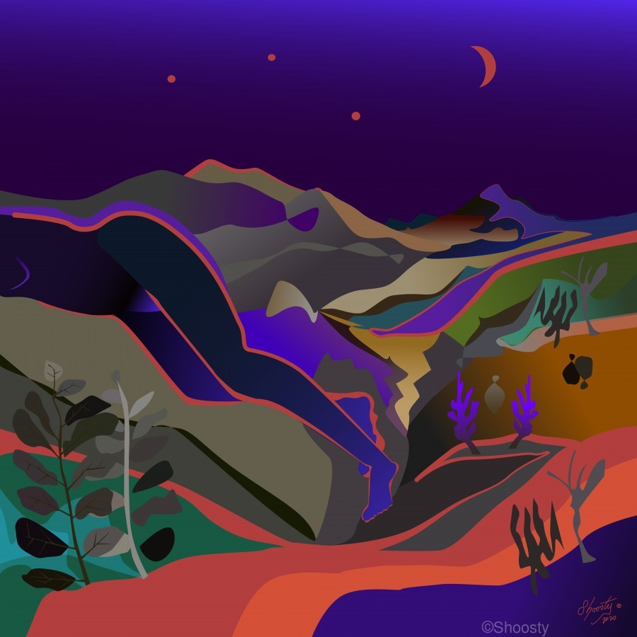 Dreaming at Lookout Mountain  Print