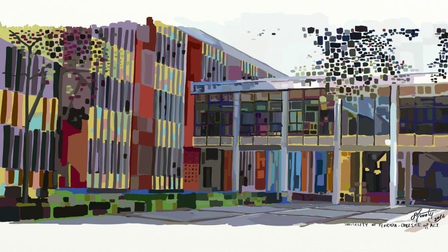 University of Florida College of Art  Print