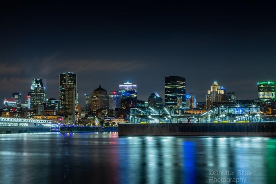 Montreal Skyline  Print