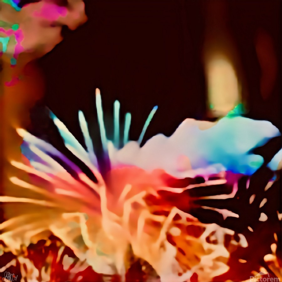 Anemone in the Luminescence Seas of My Soul  Print