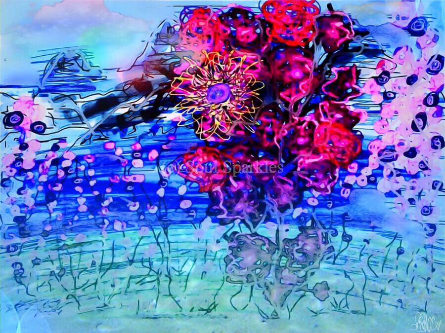 Sweet Hues Taste The Colors  Print