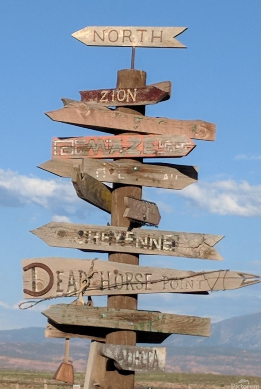 Crossroads at Moab  Print