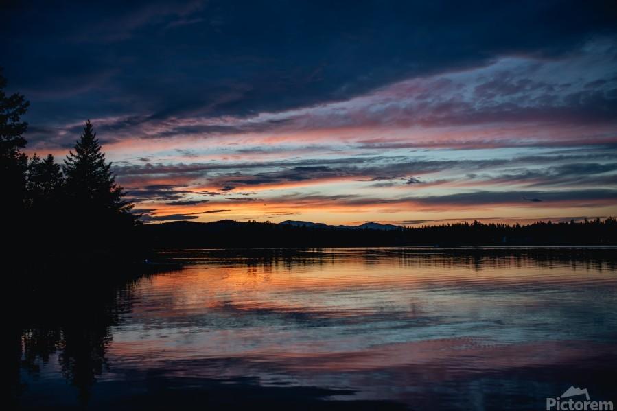 Couleurs sur le lac  Imprimer