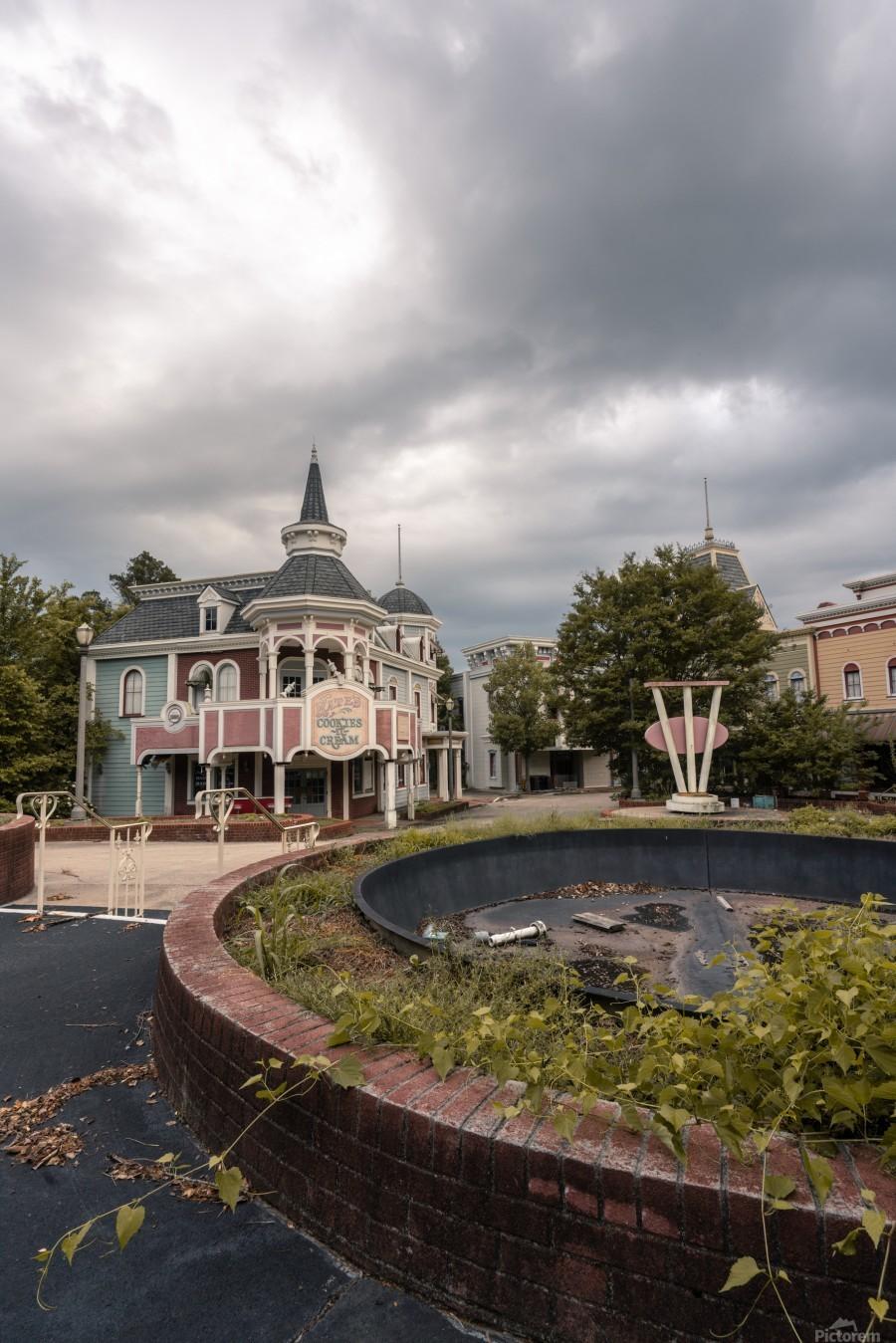 Abandoned Theme Park Missouri Usa  Print