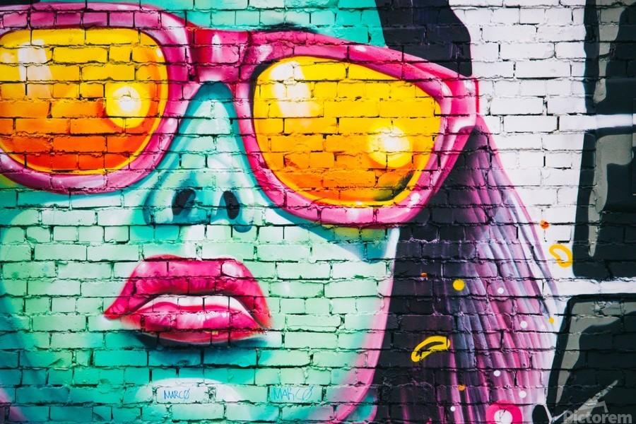 graffiti wall  Print