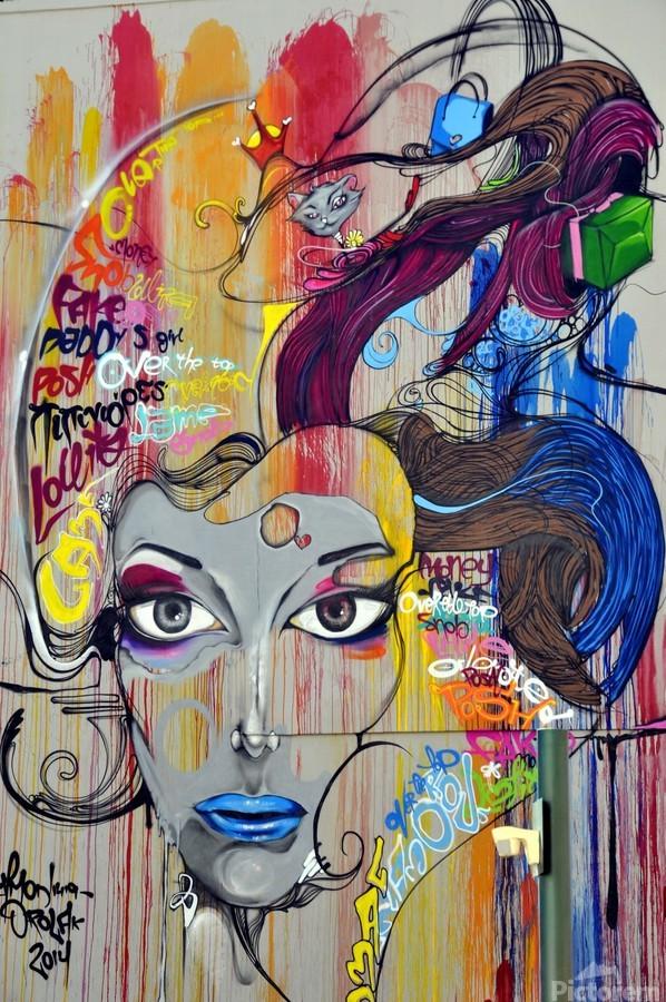 graffiti  Print