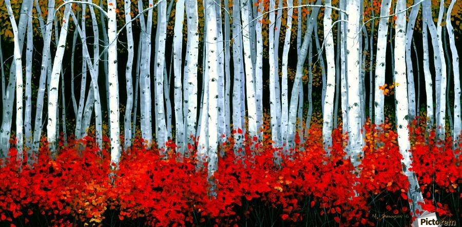Autumn Aspens  Print