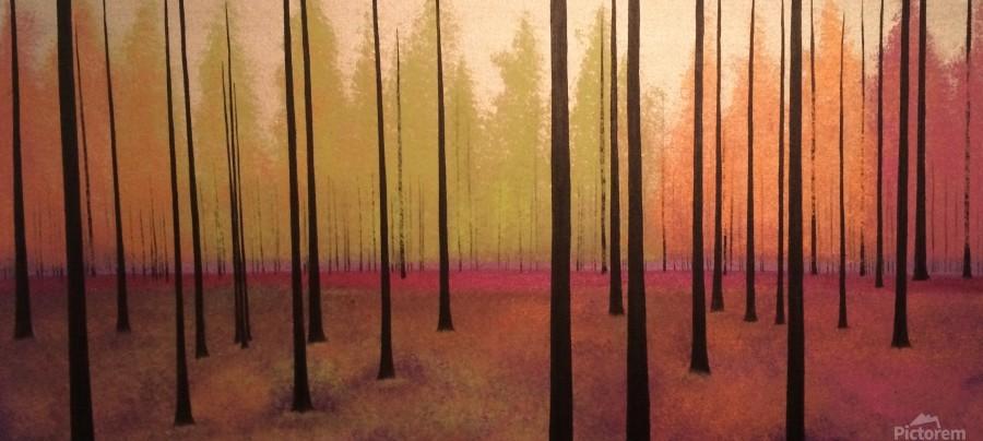 Sherbert Forest  Print