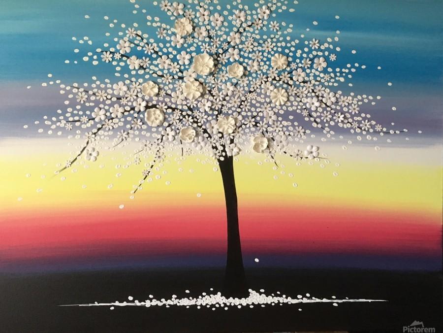 Colorful Blooms  Print