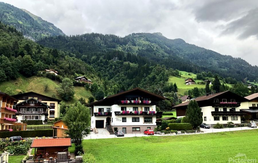 Hofgastein Dolomities Alpen  Print