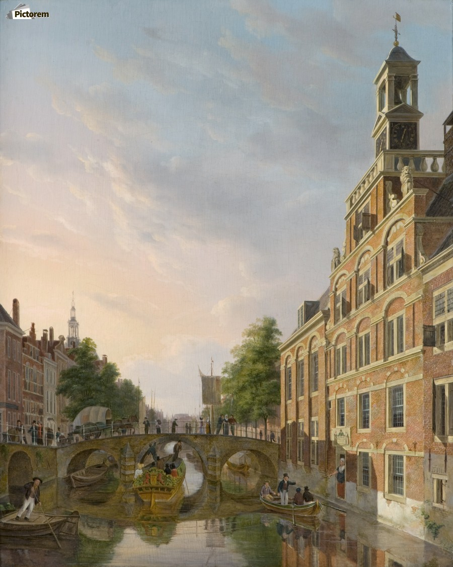 The Old Women and Children Home at the Spui, The Hague  Print