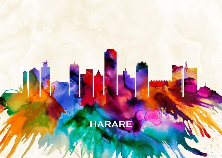 Harare Skyline  Print
