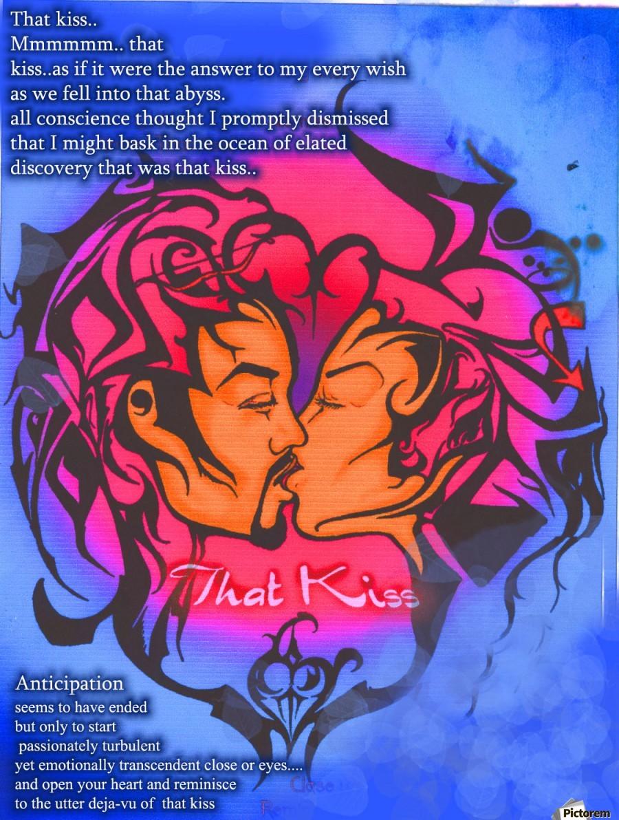 that kiss  Print