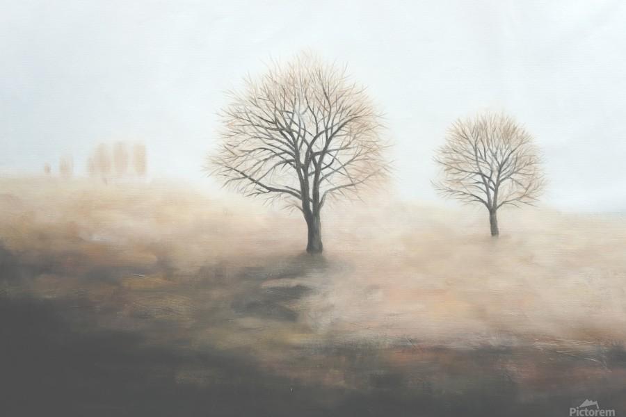 Foggy  Print
