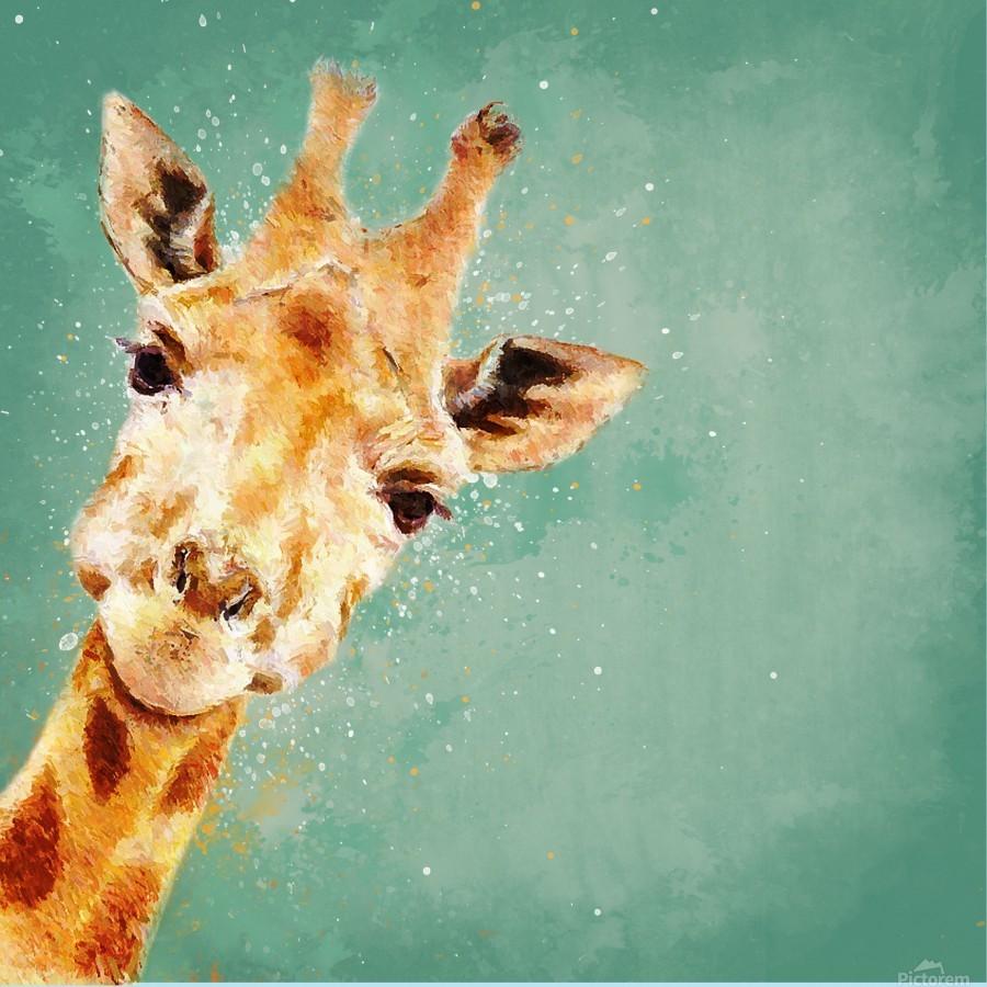 Girafeau  Print