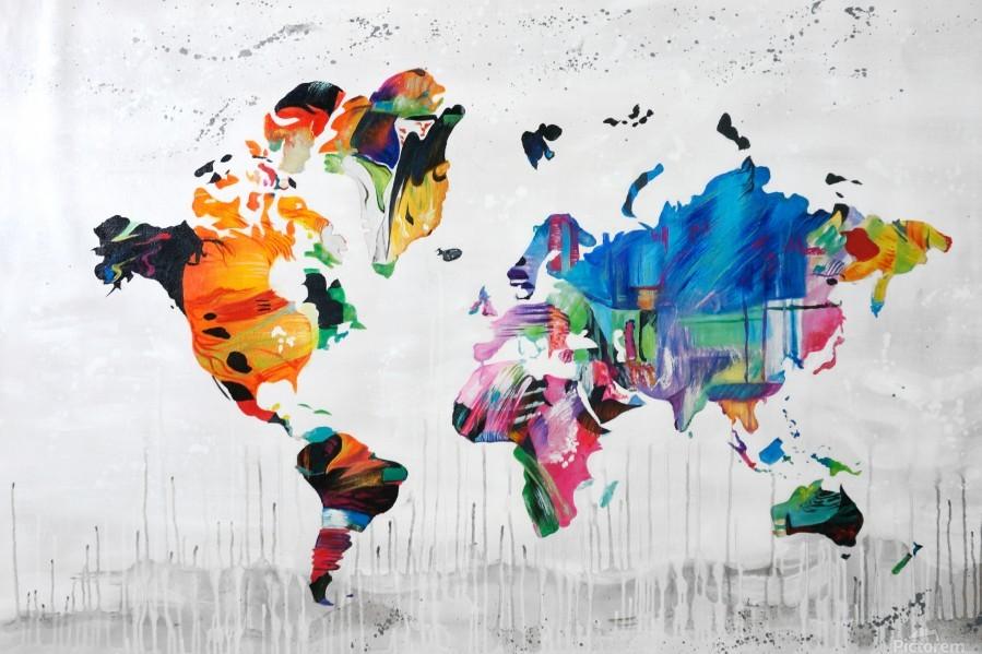 Monde  Print