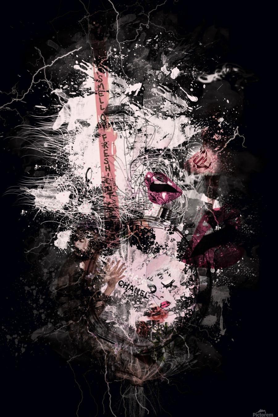 I Love Chanel N°388  Print