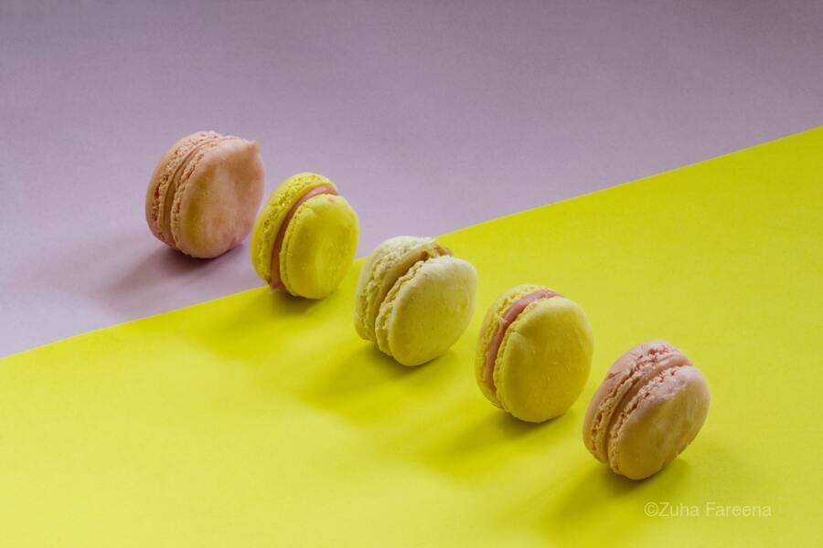 food macaroon photography  Print