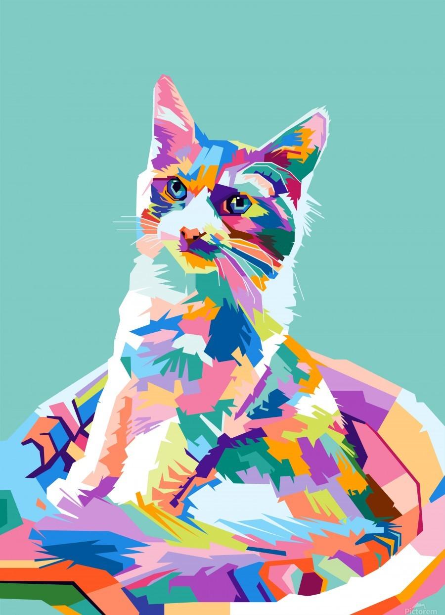 cats  Print
