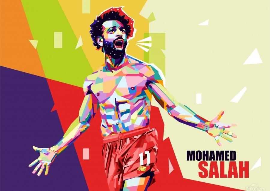 Mohamed salah  Print