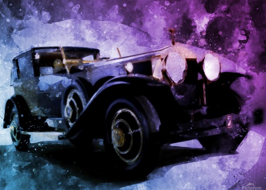 car vintage  Print