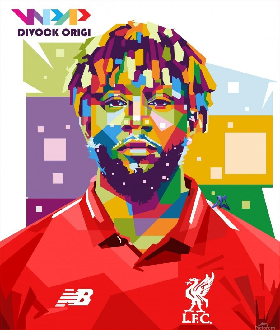 Divock origi  Print