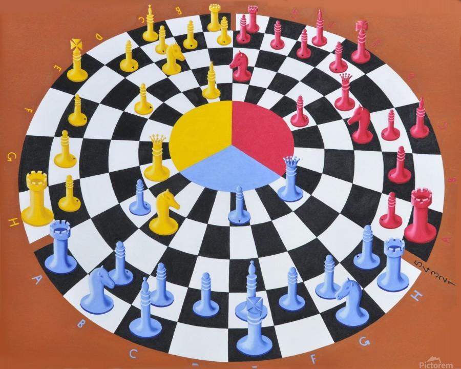 Chess-3-bounce  Imprimer